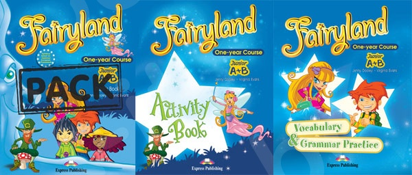 Fairyland Junior A + B (One-year Course)  - ΠΑΚΕΤΟ (Power Pack) Όλα τα βιβλία της τάξης (Νέο με ieBOOK