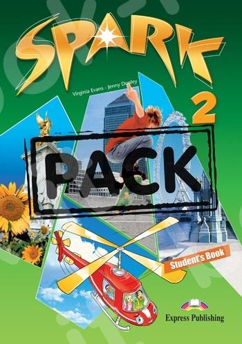 Spark 2 - ΠΑΚΕΤΟ (Power Pack 1) Όλα τα βιβλία της τάξης (Νέο με ieBOOK)