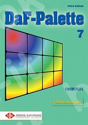 DaF-Palette 7: Umformungen OBERSTUFE