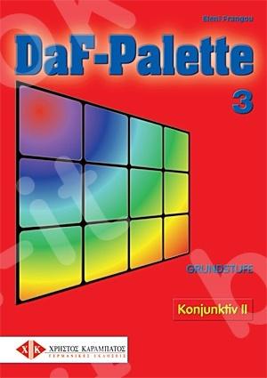 DaF-Palette 3: Konjunktiv II GRUNDSTUFE - Βιβλίο Γραμματικής