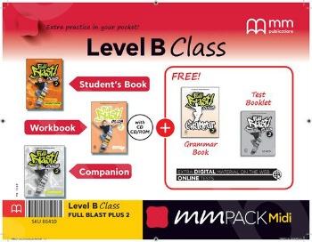 ΜΜ Pack Midi B Class Full Blast Plus 2 - ΠΑΚΕΤΟ Όλα τα βιβλία της τάξης