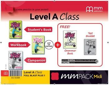 ΜΜ Pack Midi A Class Full Blast Plus 1 - ΠΑΚΕΤΟ Όλα τα βιβλία της τάξης