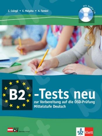 B2-Tests neu, Vorbereitungskurs auf die ÖSD-Prüfung, Testbuch + Audio-CD