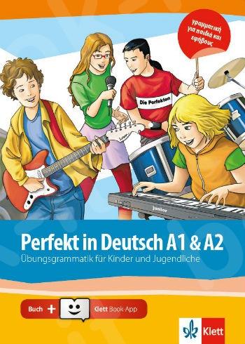 Perfekt in Deutsch - Übungsbuch mit Klett Book App online (A1- A2)