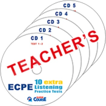 Super Course - ECPE 10 Extra Listening Practice Tests - MP3 CD Καθηγητή