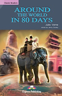 Around the World in 80 Days  - Πακέτο: Reader + Audio CD (Επίπεδο Α2)