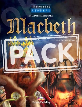 Macbeth - Πακέτο: Illustrated Reader + Audio CD (Επίπεδο Β1)