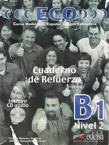 Eco B1 - Cuaderno De Refuerzo + Audio Cd(B1), (Βιβλίο Ασκήσεων)