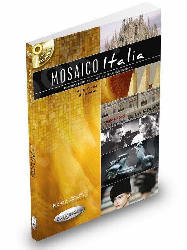 Mosaico Italia  - Libro dello studente (+ cd) - (Βιβλίο του μαθητή)