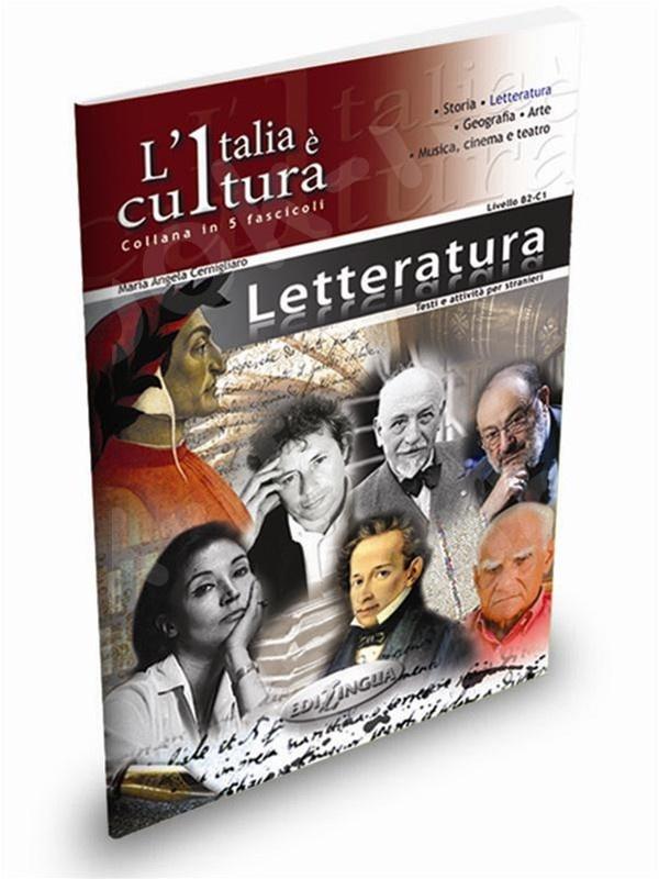 L'Italia è cultura - fascicolo Letteratura - Επίπεδο intermedio-avanzato (Βιβλίο του μαθητή)