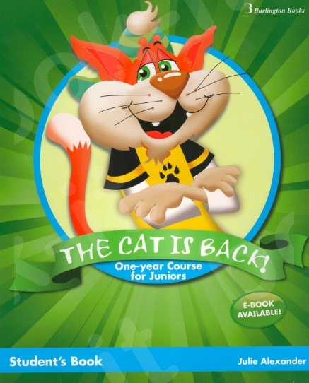 The Cat is Back 1 Year Course for Juniors - Student's Book (Βιβλίο Μαθητή)