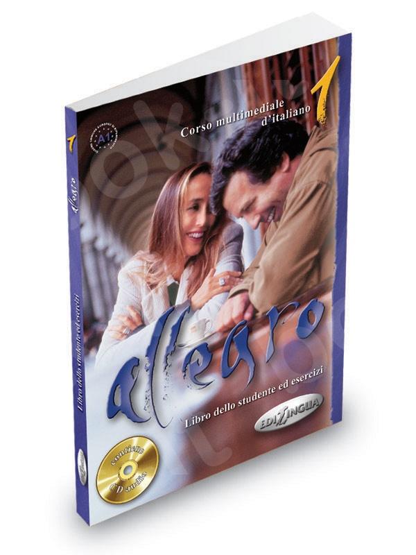 Allegro 1 - Libro dello studente ed esercizi + CD Audio (Βιβλίο του μαθητή & Ασκησεων)