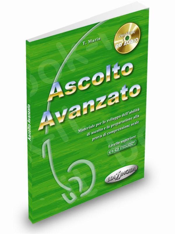 Ascolto Avanzato - Libro dello studente + CD Audio - (Βιβλίο του μαθητή)