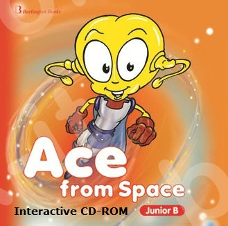 Ace from Space for Junior B - Ιnteractive CD-ROM