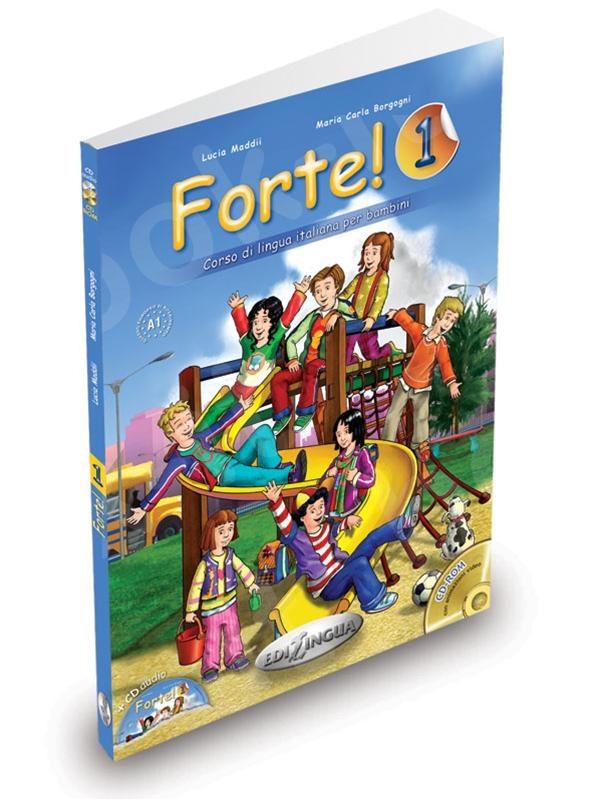 Forte! 1 - Libro dello studente ed esercizi + CD Audio (Βιβλίο του μαθητή & Ασκησεων)