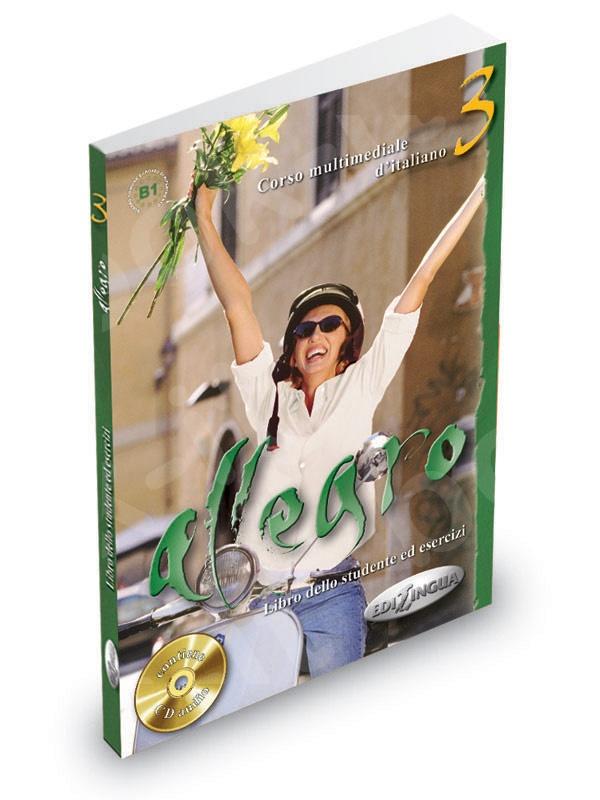 Allegro 3 - Libro dello studente ed esercizi + CD Audio (Βιβλίο του μαθητή & Ασκησεων)