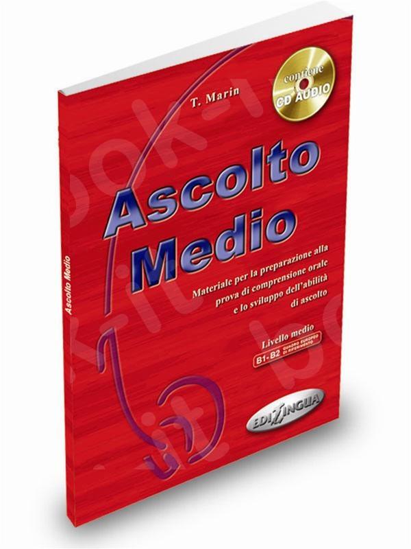 Ascolto Medio - Libro dello studente + CD Audio - (Βιβλίο του μαθητή)