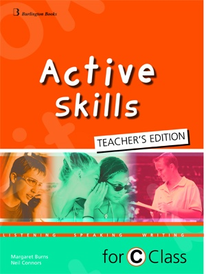 Active Skills for C Class - Burlington Teacher's Book (Βιβλίο καθηγητή)