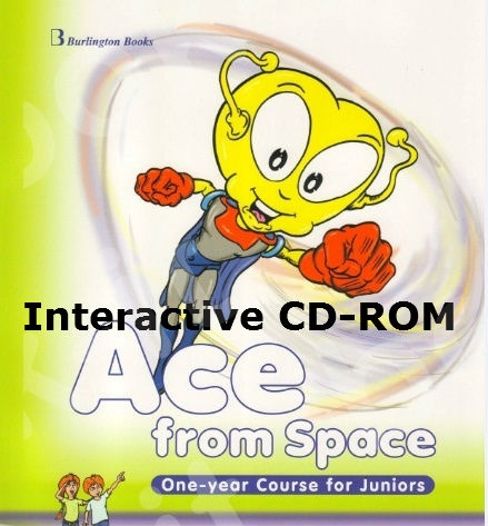 Ace from Space One-year Course for Juniors - Ιnteractive CD-ROM