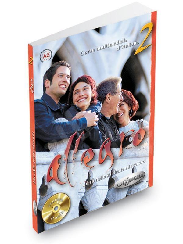 Allegro 2 - Libro dello studente ed esercizi + CD Audio (Βιβλίο του μαθητή & Ασκησεων)