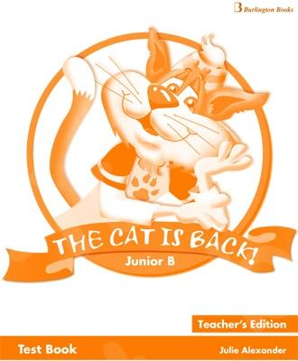 The Cat is Back Junior B - Teacher's Testbook (Καθηγητή)