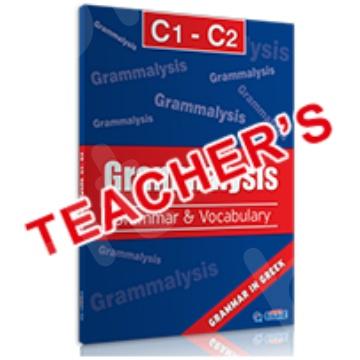 Super Course - Grammalysis C1 - C2, Βιβλίο καθηγητή