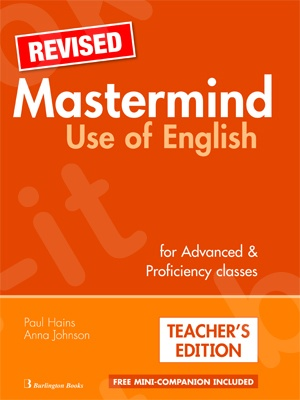 Mastermind Use of English for Advance Proficiency class - Revised -  Teacher's Book (Βιβλίο καθηγητή)