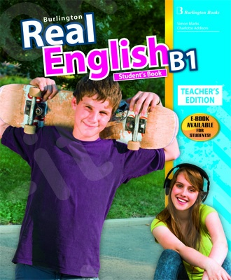 Burlington Real English B1 - Teacher's Book (Βιβλίο Καθηγητή)