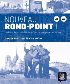 Nouveau Rond-Point 1 (A1-A2) - Cahier de exercices+CD (Βιβλίο Ασκήσεων με CD)