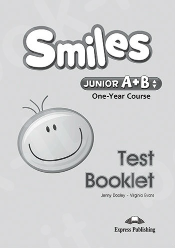 Smiles Junior A+B (One Year Course) - Test Booklet - (Νέο!!)