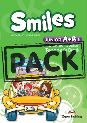 Smiles Junior A+B (One Year Course) - Teacher's Book (interleaved with Posters) (Καθηγητή) - (Νέο!!)