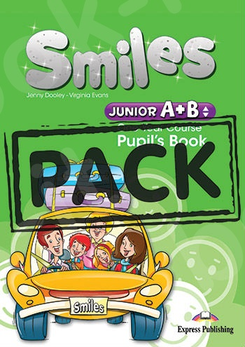 Smiles Junior A+B (One Year Course) - ΠΑΚΕΤΟ (Power Pack) Όλα τα βιβλία της τάξης (Νέο με ieBOOK !!)