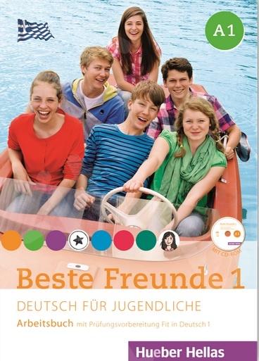 Beste Freunde 1 - Arbeitsbuch (+ CD)(Βιβλίο ασκήσεων) - Νέο !!!