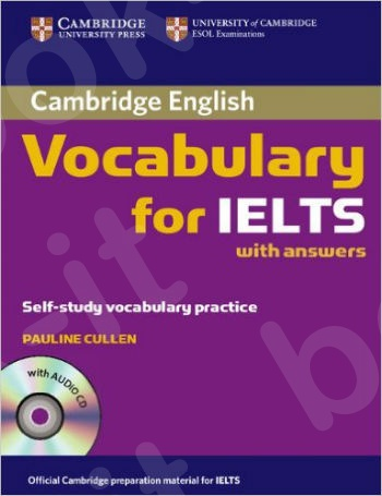 Cambridge - Vocabulary for IELTS - Book with answers and Audio CD
