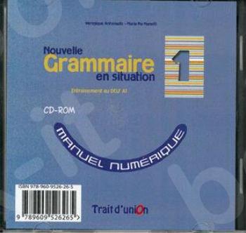 Nouvelle Grammaire en Situation - Niveau 1 -  Cd Rom