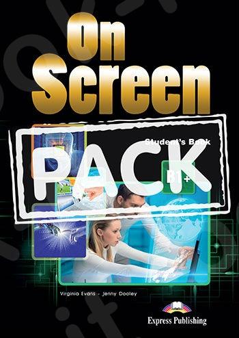 On Screen B1+ - Power Pack ΠΑΚΕΤΟ Όλα τα βιβλία της τάξης με Workbook DigiBook App. & It's Grammar Time 4 (Greek Edition) - Νέο !!!!