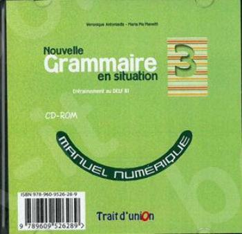 Nouvelle Grammaire en Situation - Niveau 3 -  Cd Rom