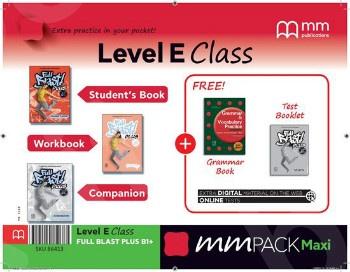 ΜΜ Pack Maxi E Class Full Blast Plus B1+ - ΠΑΚΕΤΟ Όλα τα βιβλία της τάξης