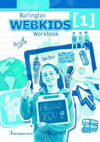 Burlington Webkids 1 - Workbook (Βιβλίο Ασκήσεων Μαθητή)