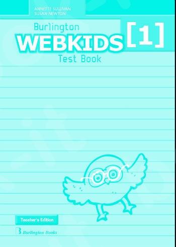 Burlington Webkids 1 - Teacher's Testbook (Καθηγητή)