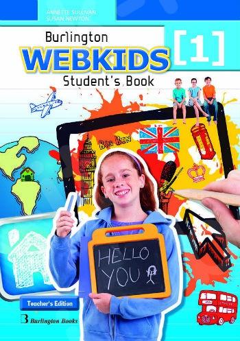 Burlington Webkids 1 - Teacher's Book (Βιβλίο Καθηγητή)