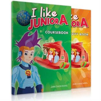 Super Course - I Like Junior A - Πλήρες Πακέτο Μαθητή με i-book (Μαθητή)