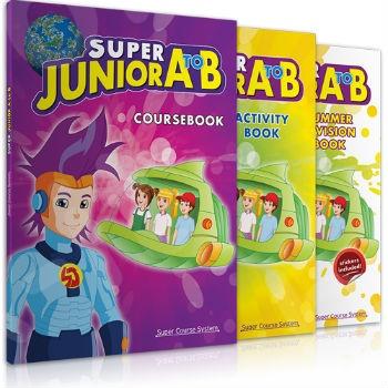 Super Course - Super Junior A to B - Πληρες Πακέτο Μαθητή(iBook+Revision)