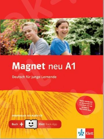 Magnet neu A1, Arbeitsbuch mit Audio-CD + Klett Book-App (για 12μηνη χρήση)
