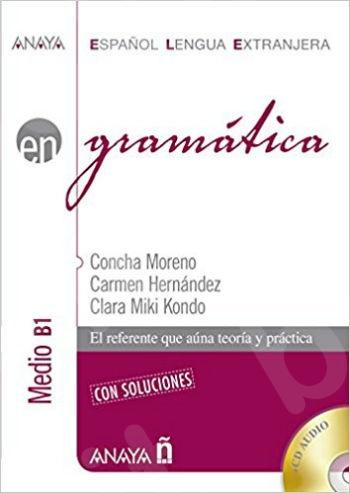 EN Gramatica - nivel medio B1 con soluciones (+CD) N/E- Εκδόσεις ANAYA