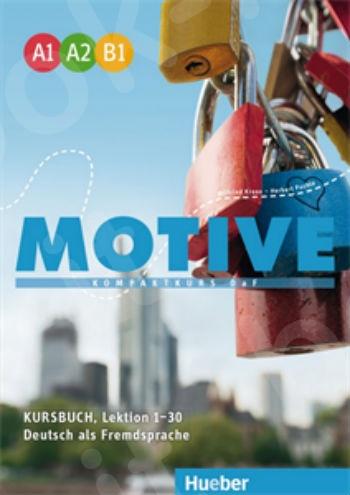MOTIVE (A1-A2-B1) - Kursbuch (Βιβλίο του μαθητή) Lektion 1–30