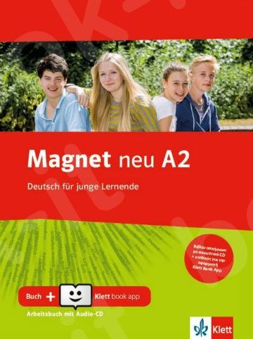 Magnet neu A2, Arbeitsbuch mit Audio-CD + Klett Book-App (για 12μηνη χρήση)