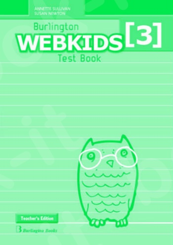 Burlington Webkids 3 - Teacher's Testbook (Καθηγητή)