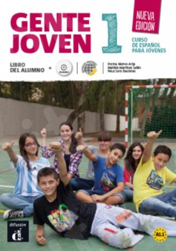 Gente Joven 1 Nueva Edición, Libro del alumno (+CD)  (Βιβλίο του μαθητή με Cd)