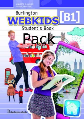 Burlington Webkids B1 -  D Class - ΠΑΚΕΤΟ Όλα τα βιβλία της τάξης